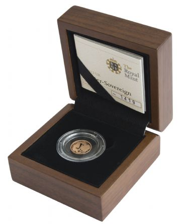 2012 Proof Quarter Sovereign